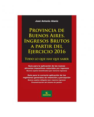 PROVINCIA DE BUENOS AIRES - IIBB A PARTIR DEL EJERCICIO 2016