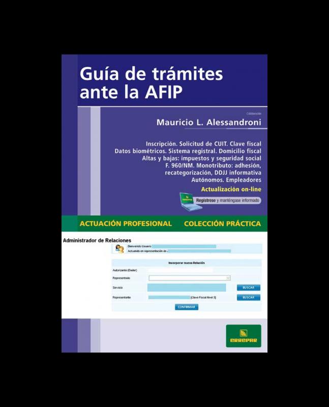 GUÍA DE TRÁMITES ANTE LA AFIP