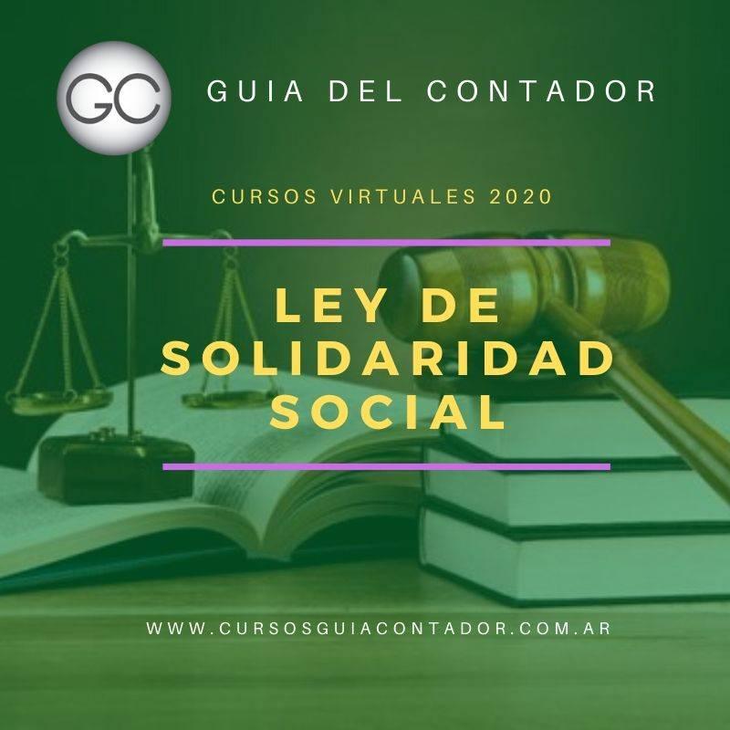 Reforma tributaria de emergencia. Ley de solidaridad social y reactivación productiva