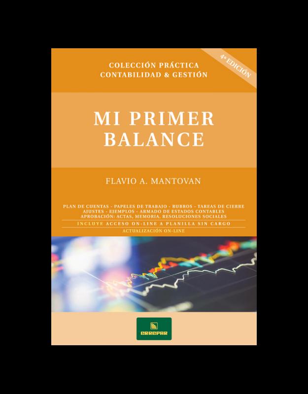 MI PRIMER BALANCE (NUEVA EDICION)