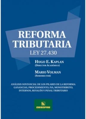 REFORMA TRIBUTARIA - LEY 27.430