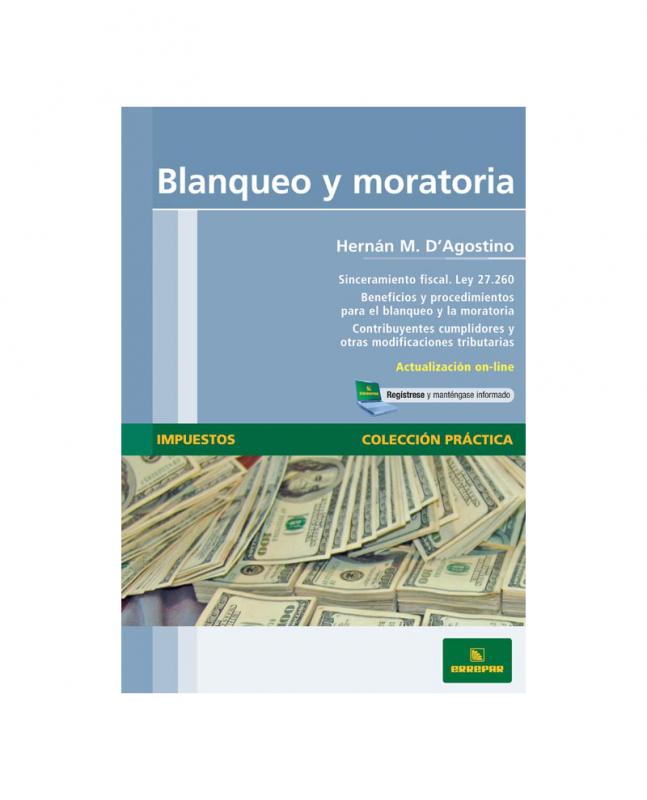 BLANQUEO Y MORATORIA