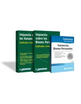 PROMO 2: Explicados y comentados de Imp. a las Gcias + Bs. Personales. + Separata de Legislación
