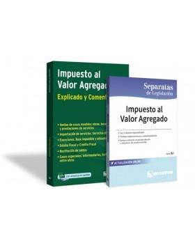 PROMO 4: Impuesto al Valor Agregado (Explicados y comentados) + Separata de Legislación