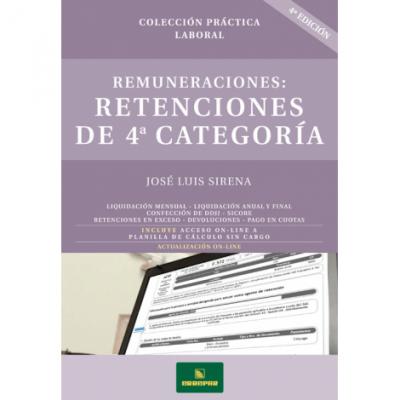 REMUNERACIONES: RETENCIONES DE 4ª CATEGORÍA