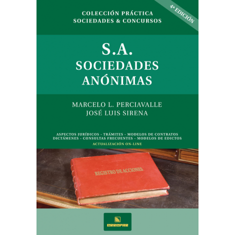 SOCIEDADES ANÓNIMAS