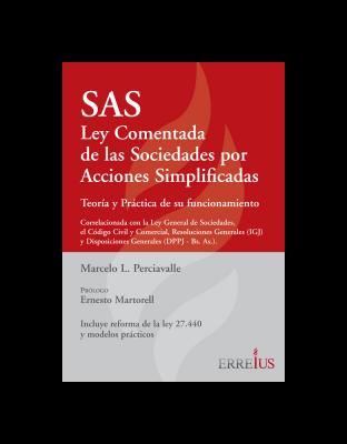 SAS - Ley Comentada De Las Sociedades Por Acciones Simplificadas