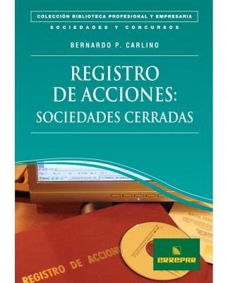 REGISTRO DE ACCIONES: SOCIEDADES CERRADAS