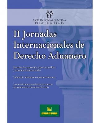 II JORNADAS INTERNACIONALES DE DERECHO ADUANERO