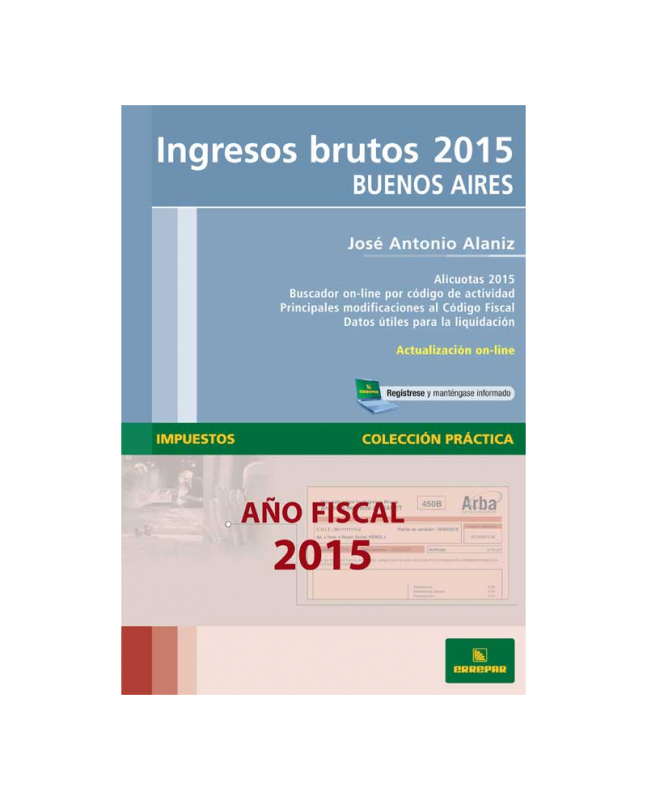 INGRESOS BRUTOS 2015 - BUENOS AIRES