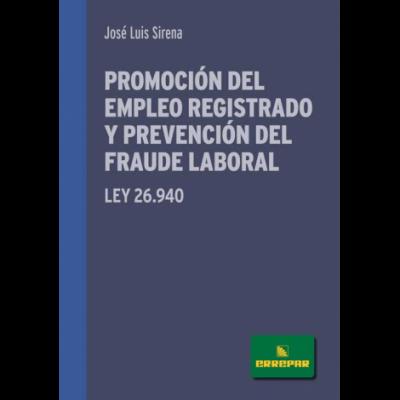 PROMOCION DEL EMPLEO REGISTRADO Y PREVENCION DEL FRAUDE LABORAL