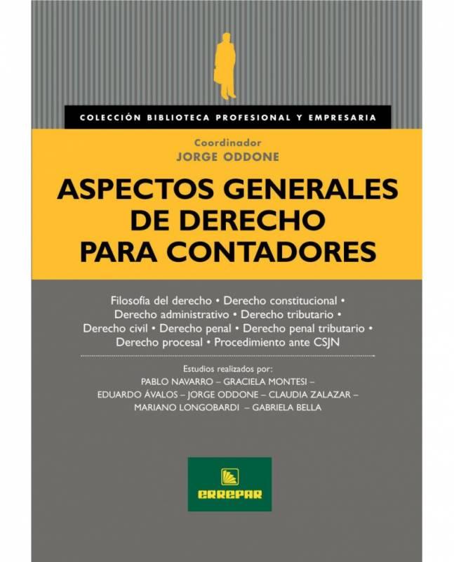 ASPECTOS GENERALES DE DERECHO PARA CONTADORES